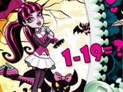 Play Draculaura Math Quiz game