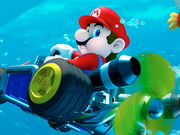 Play Mario Driving Underwater game