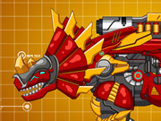 Play Steel Dino Toy: Mechanic Triceratops game