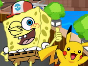 Play Spongebob Play Pokemon Go game