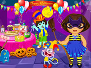 Dora Halloween Prepare More Game