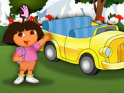 Play Dora At Car Show game