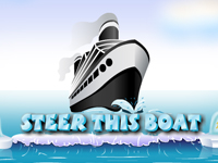 Play Steer This Boat game