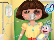 Play Dora First Aid game