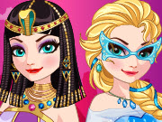 Ice Queen Time Travel Egypt Game
