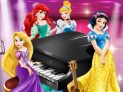 Play Disney Princesses Music Party game