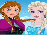 Play Frozen Selfie Make Up game