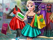 Play Elsa Realife Shopping game