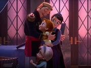 Play Frozen Family Portrait game