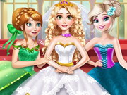 Play Rapunzel Princess Wedding Dress game