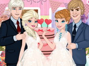 Play Frozen Sisters Wedding Party game