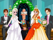 Play Frozen Sisters Bride Contest game