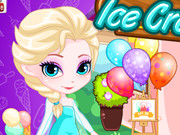 Play Elsa's Ice Cream Shop game