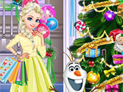 Play Elsa Holidays Shopping game