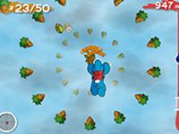Blue Rabbit's Freefall Game