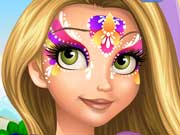 Rapunzel Face Painting Game