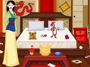 Play Princess Mulan Room Cleaning game