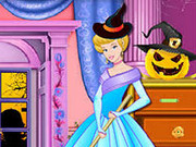 Cinderella Halloween Castle Makeover Game