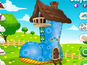 Play Shoe House Decor game