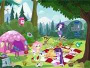 Play Equestria Girls Picnic Story game