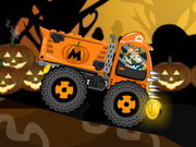 Play Mario Halloween Truck game