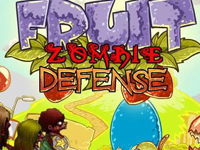 Play Fruit Zombie Defense game