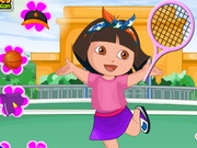 Joacă Dora Sport Dress Up joc