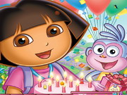 Play Dora Hidden Objects game
