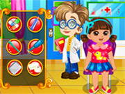 Play Dora Doctor Slacking game