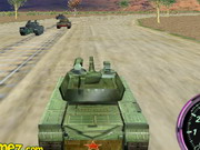 Play 3d Tank Racing game