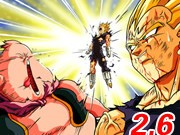Lecture Dragon Ball z Fighting 2.6 jeu