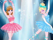 Play Frozen Royal Ballet Audition game