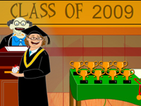 Play Funny Graduation game