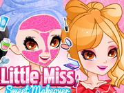 Play Little Miss Sweet Makeover game