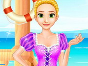 Rapunzel's Beach Day Game
