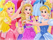 Play Blonde Princess Prom Shopping game