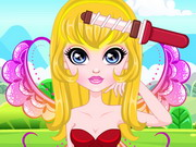 Play Spring Fairies Hair Salon game