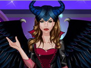Play Maleficent Real Makeup game