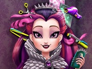 Play Raven Queen Real Haircuts game