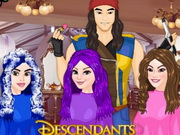 Play Descendants Hair Salon game