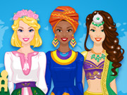 Spelen Around The World Fashion Show spel