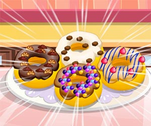 Play Donuts cooking games game