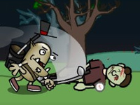 Play Gavin The Pro Golf Goblin Halloween Tour game