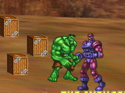 Hulk: Avengers Defence Game