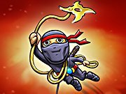 Play Ninja Rope Jump game