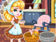 Play Cinderella Laundry Day game