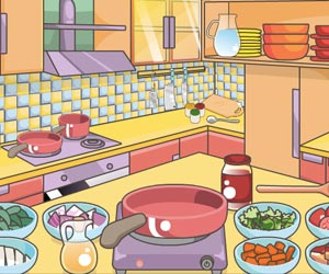 Play Mia Cooking Spaghetti Bolognese game