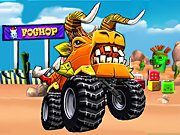 Play Beast Monster Trucks game