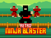 Play Retro Ninja Blaster game