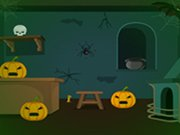 Play Scary Halloween House Escape 7 game